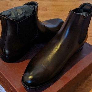 """Mens To Boot New York """"Toby"""" Leather Chelsea Boots"""